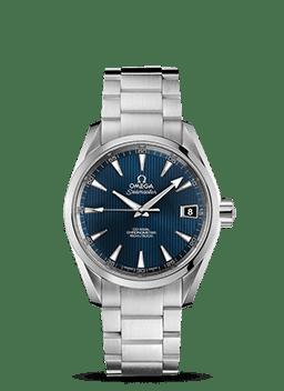 海马系列 Aqua Terra 150米腕表 欧米茄38.5毫米同轴腕表 - SKU码 231.10.39.21.03.001