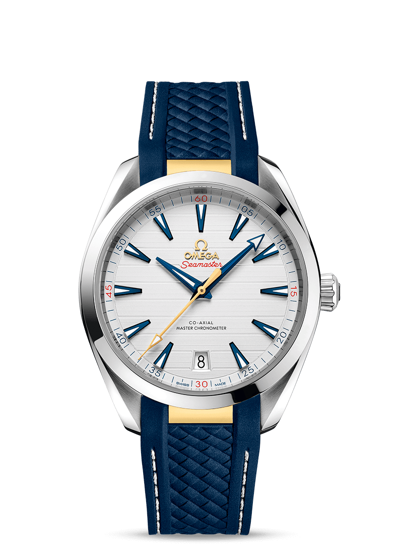 "Seamaster Aqua Terra 150米腕表 ""莱德杯""腕表 - SKU码 220.12.41.21.02.004 Watch presentation"