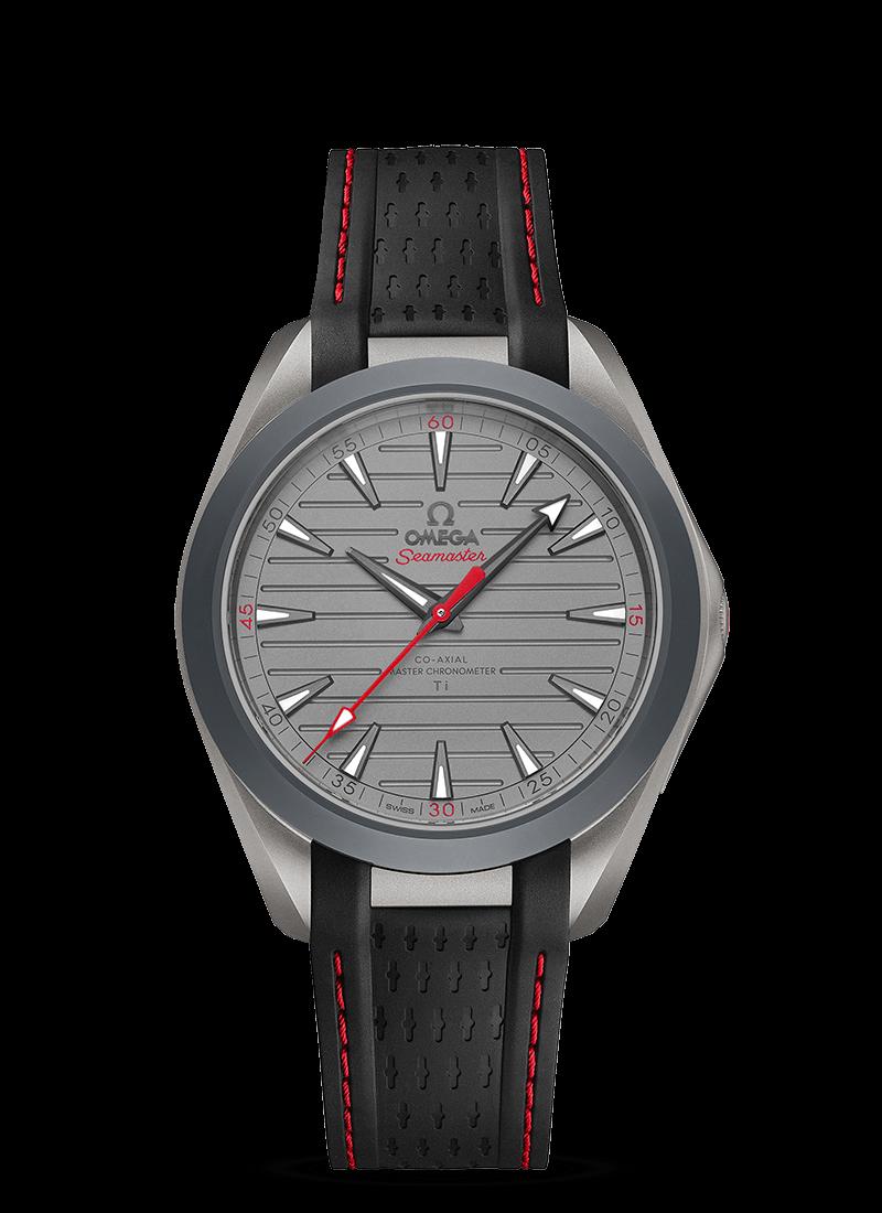 "Seamaster Aqua Terra 150米腕表 ""Ultra Light"" 腕表 - SKU码 220.92.41.21.06.001 Watch presentation"