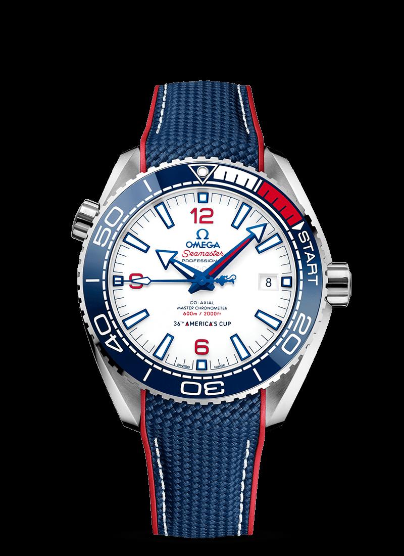 Seamaster 海洋宇宙600米 美洲杯帆船赛 - SKU码 215.32.43.21.04.001 Watch presentation