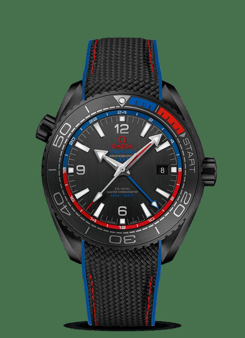 "Seamaster 海洋宇宙600米 ""深海之黑""新西兰酋长队腕表 - SKU码 215.92.46.22.01.004 Watch presentation"