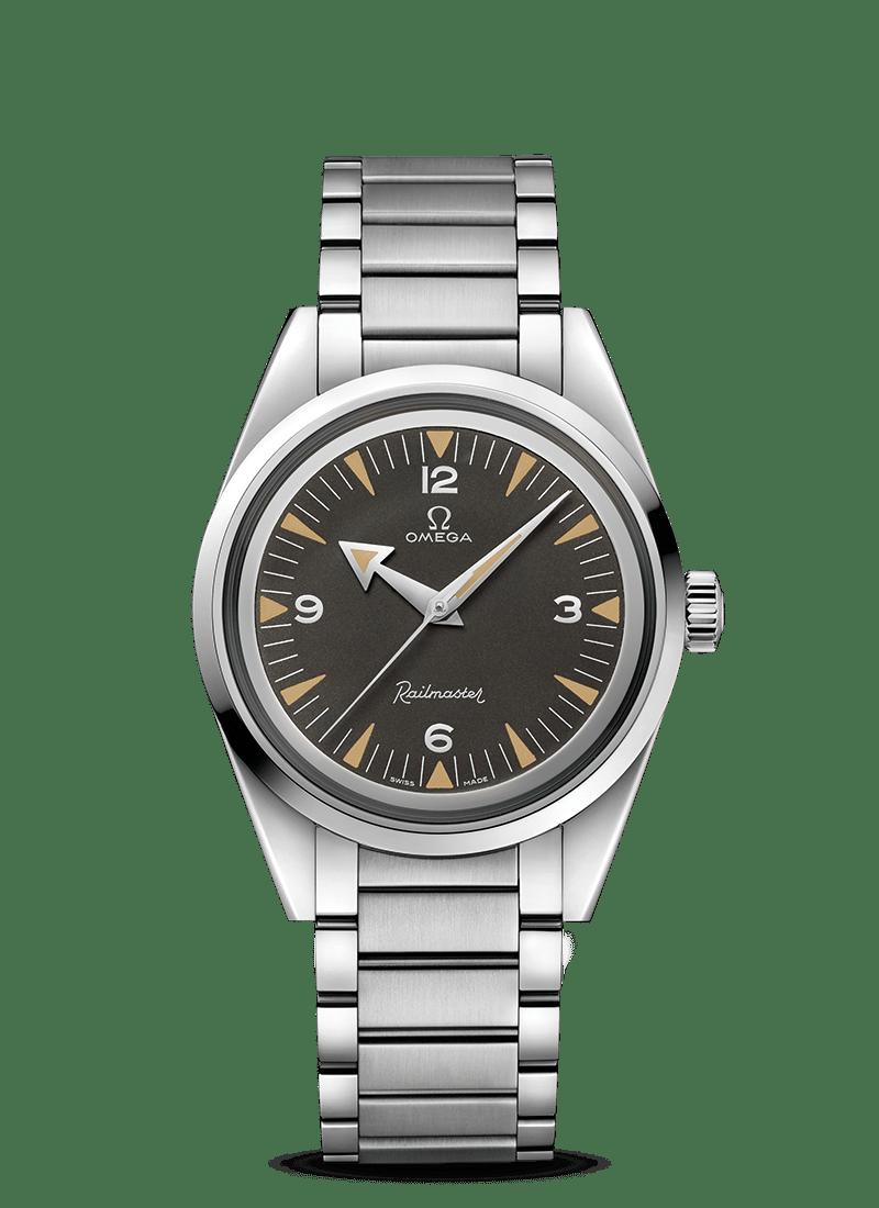 Seamaster 欧米茄铁霸腕表 欧米茄1957年三大经典腕表 - SKU码 220.10.38.20.01.002 Watch presentation