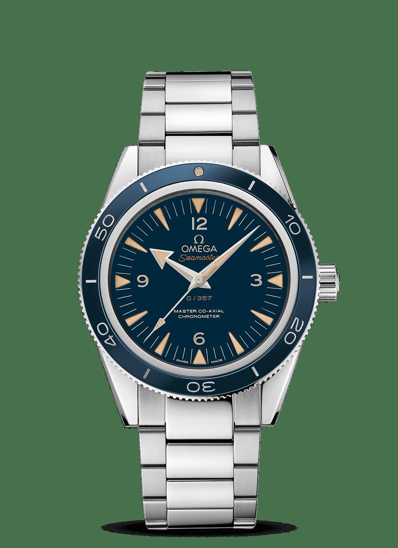 "Seamaster 海马300 欧米茄""至臻同轴""41毫米腕表 - SKU码 233.90.41.21.03.002 Watch presentation"