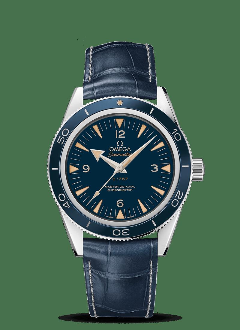 "Seamaster 海马300 欧米茄""至臻同轴""41毫米腕表 - SKU码 233.93.41.21.03.001 Watch presentation"