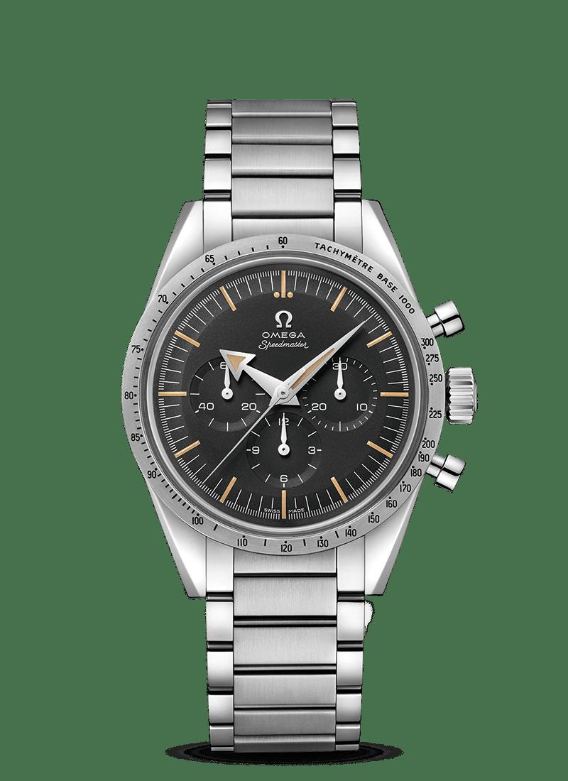 Speedmaster 超霸'57腕表 欧米茄1957年三大经典腕表 - SKU码 311.10.39.30.01.001 Watch presentation