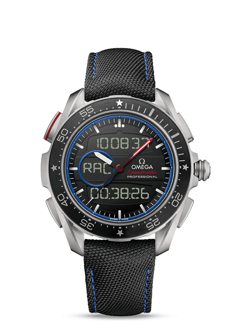 "Speedmaster 超霸系列X-33""帆船赛""腕表 ""新西兰酋长队""限量版 - SKU码 318.92.45.79.01.001 Watch presentation"