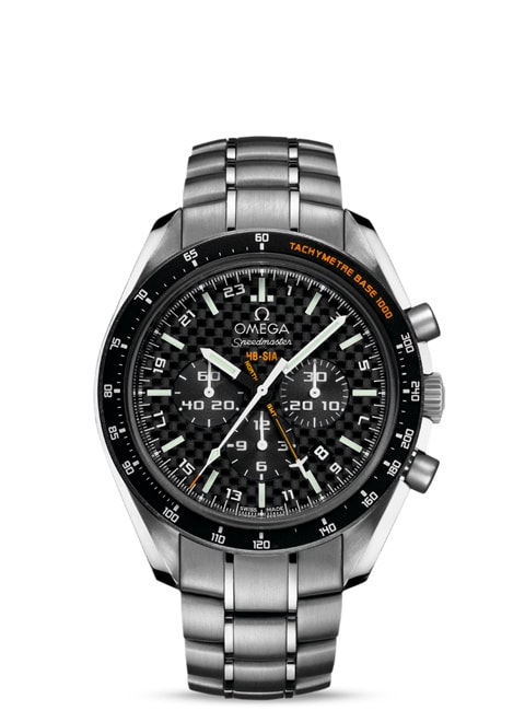 Speedmaster SOLAR IMPULSE HB-SIA腕表 44.25毫米同轴GMT 编号版计时表 - 钛金属表壳搭配钛金属表链