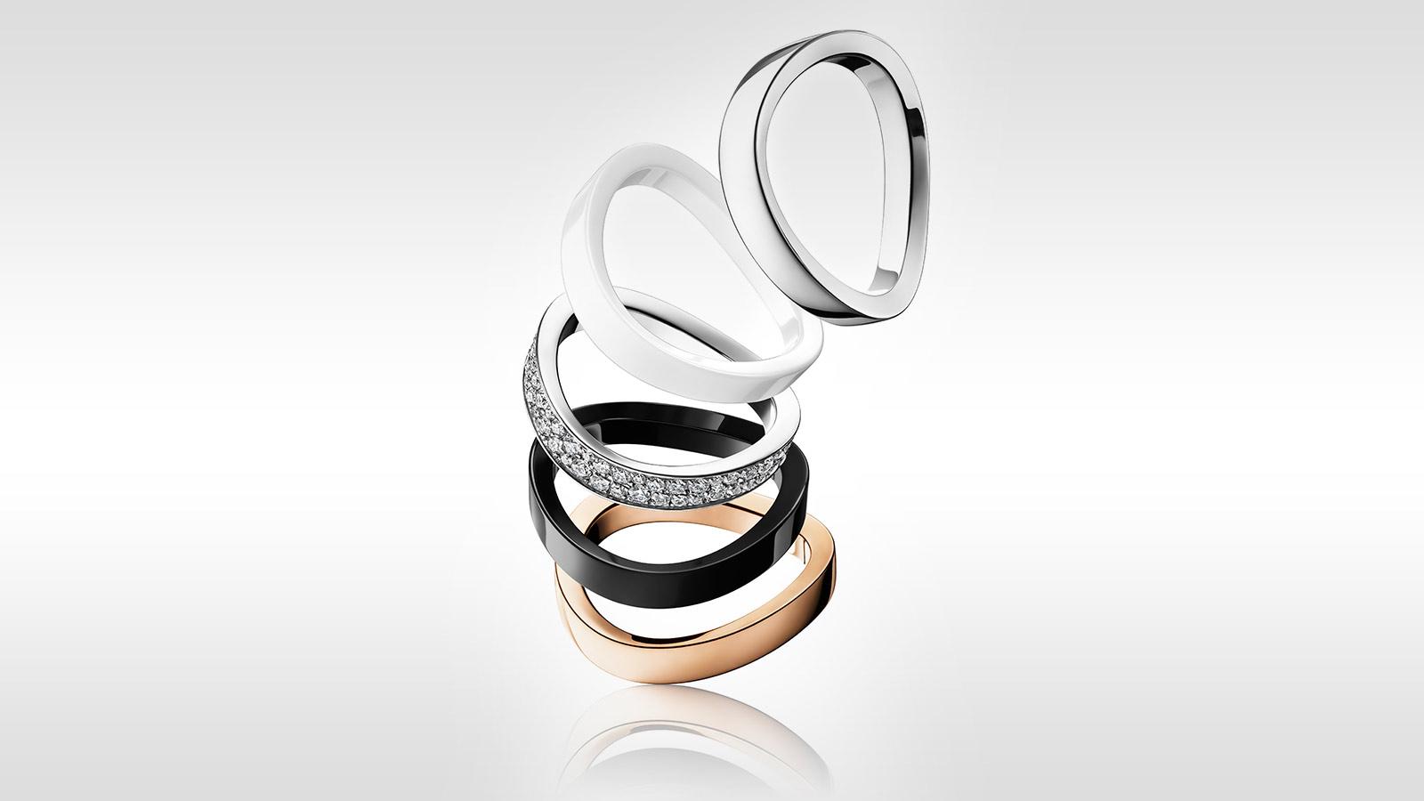 AQUA SWING系列 戒指 AQUA SWING系列 戒指 - R43CRA05081XX - 查看 2