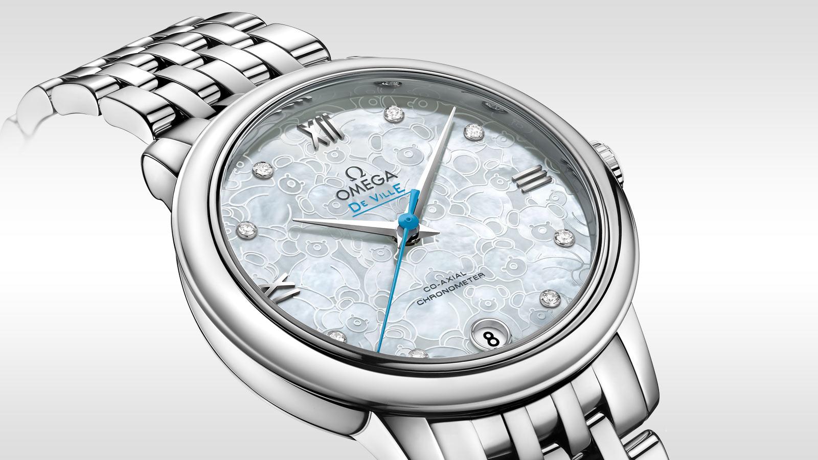 碟飞系列 典雅系列腕表 典雅系列 32.7毫米同轴腕表 - 424.10.33.20.55.004 - 查看 1