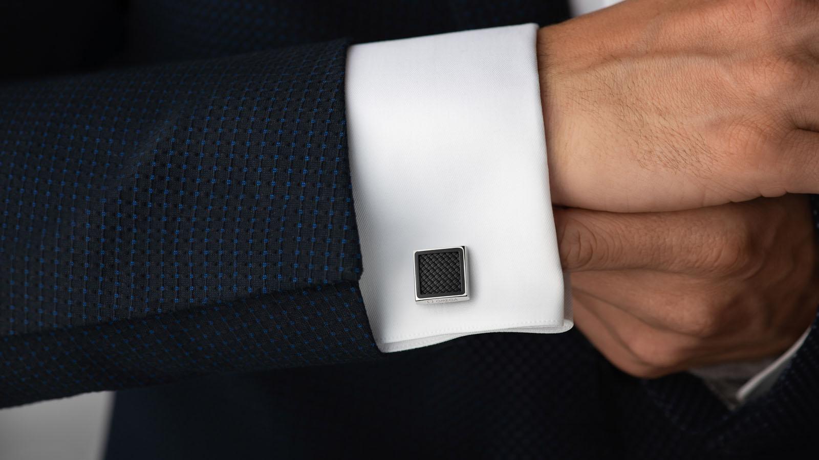 欧米茄Aqua系列 袖扣 欧米茄Aqua系列 袖扣 腕表 - CA05ST0000105