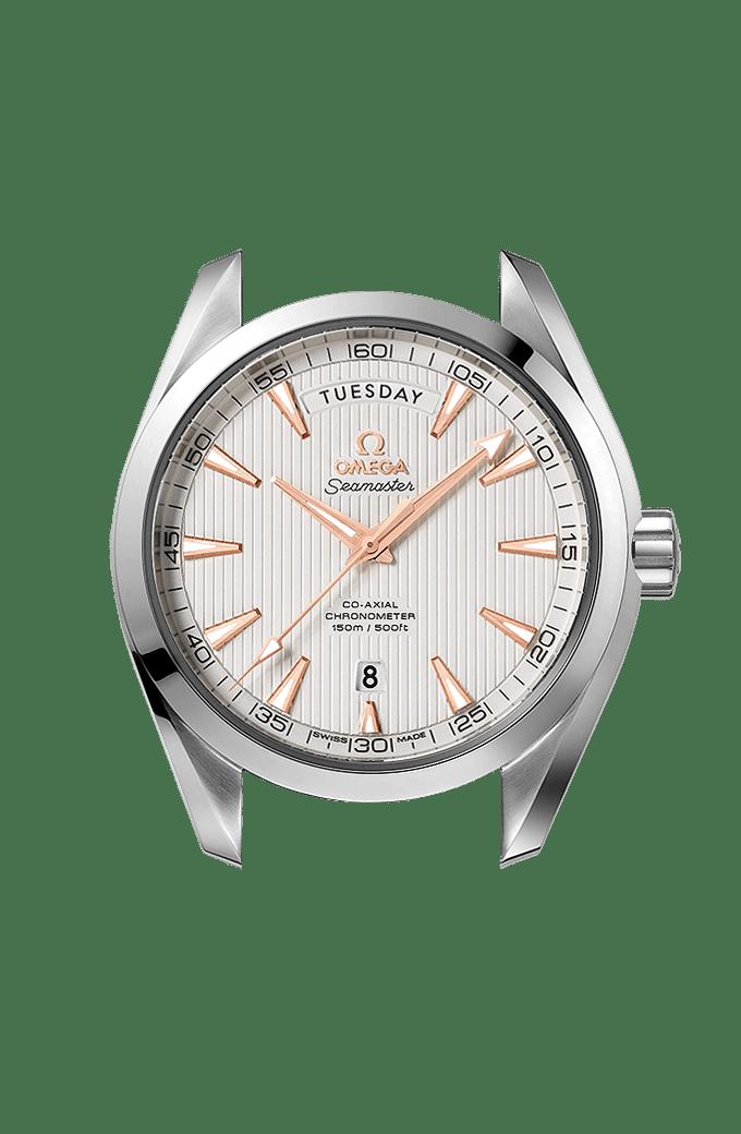 Aqua Terra 150米腕表 41.5毫米同轴日历星期腕表 - 231.10.42.22.02.001