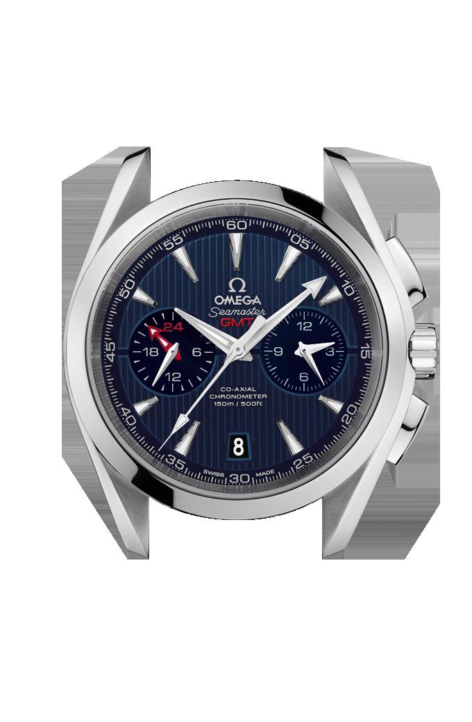 Aqua Terra 150米腕表 欧米茄43毫米同轴GMT计时表 - 231.10.43.52.03.001