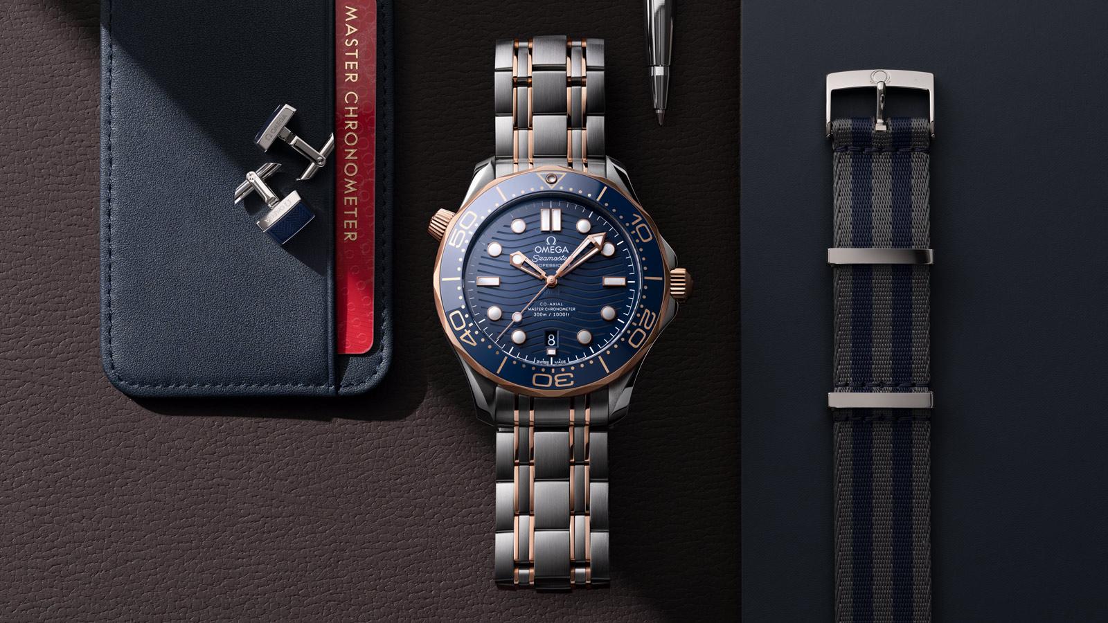 Seamaster 300米潜水表 300米潜水表 欧米茄同轴•至臻天文台表42毫米 腕表 - 210.20.42.20.03.002