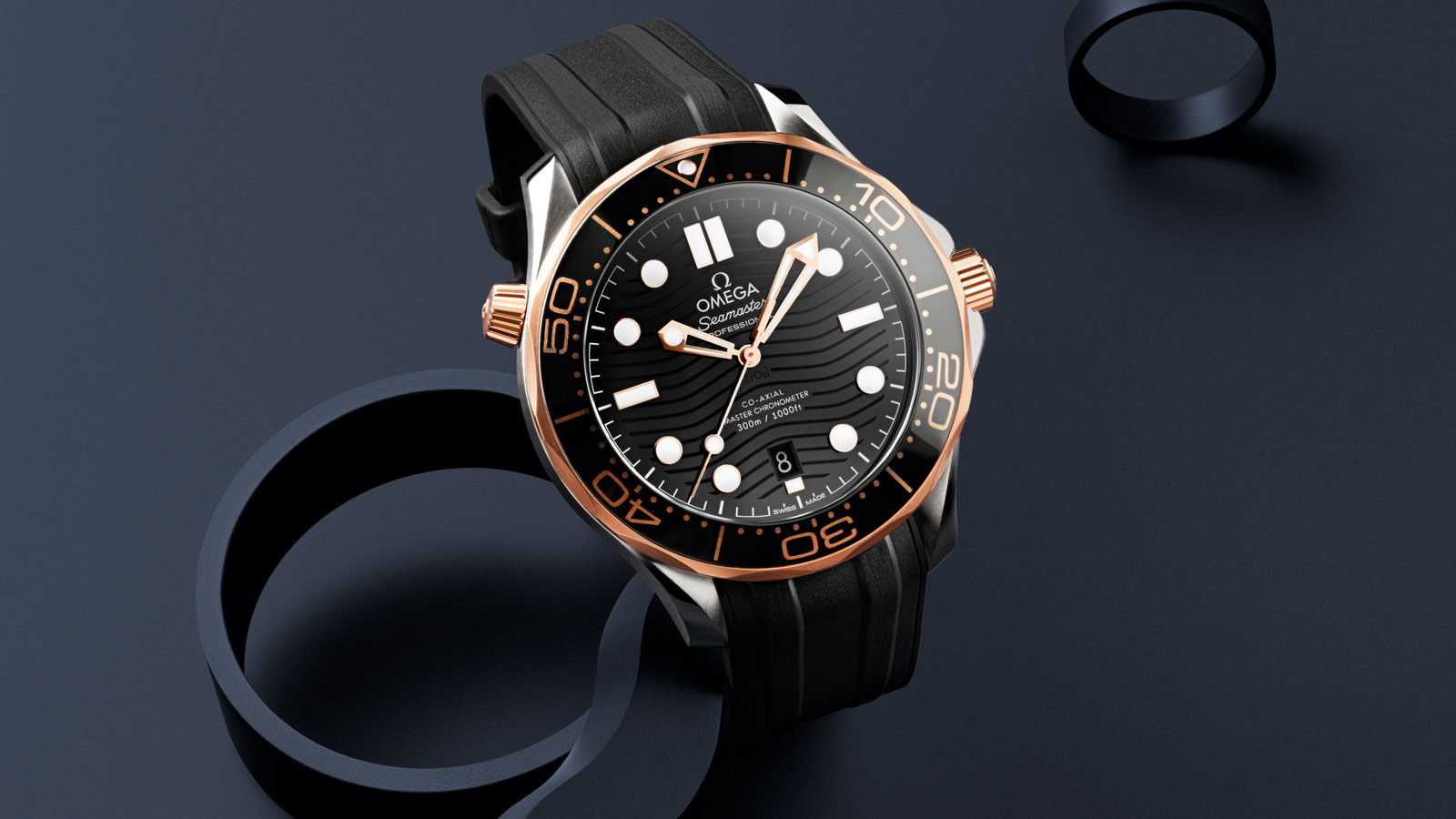 Seamaster 300米潜水表 300米潜水表 欧米茄至臻天文台表42毫米 - 210.22.42.20.01.002 - 查看 1