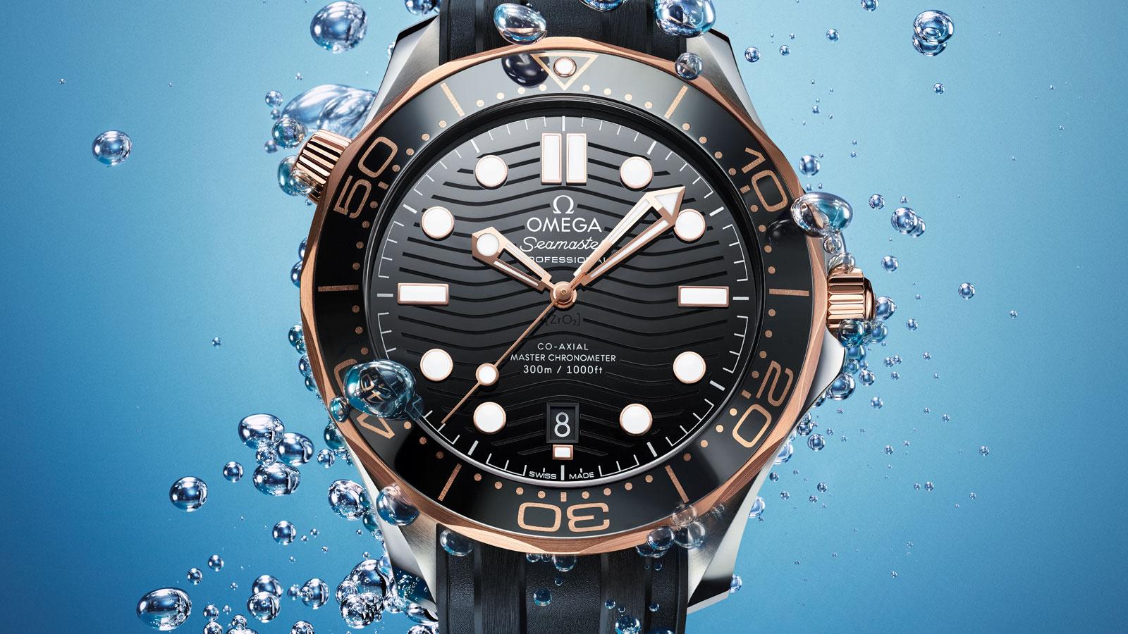 Seamaster 300米潜水表 300米潜水表 欧米茄至臻天文台表42毫米 腕表 - 210.22.42.20.01.002