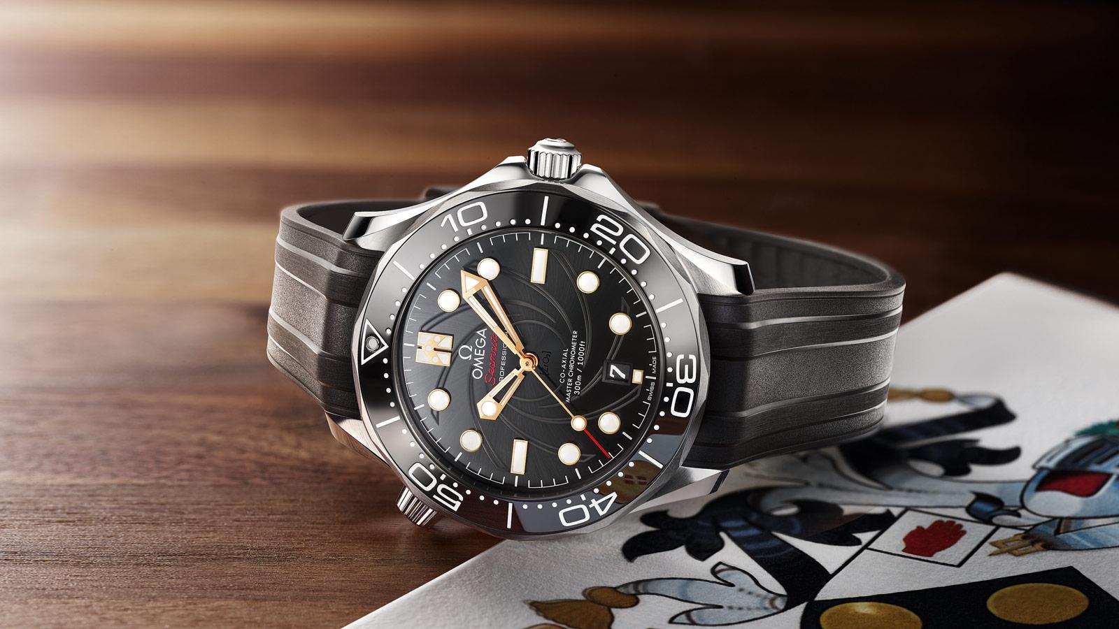 Seamaster 300米潜水表 300米潜水表 欧米茄至臻天文台表42毫米 腕表 - 210.22.42.20.01.004