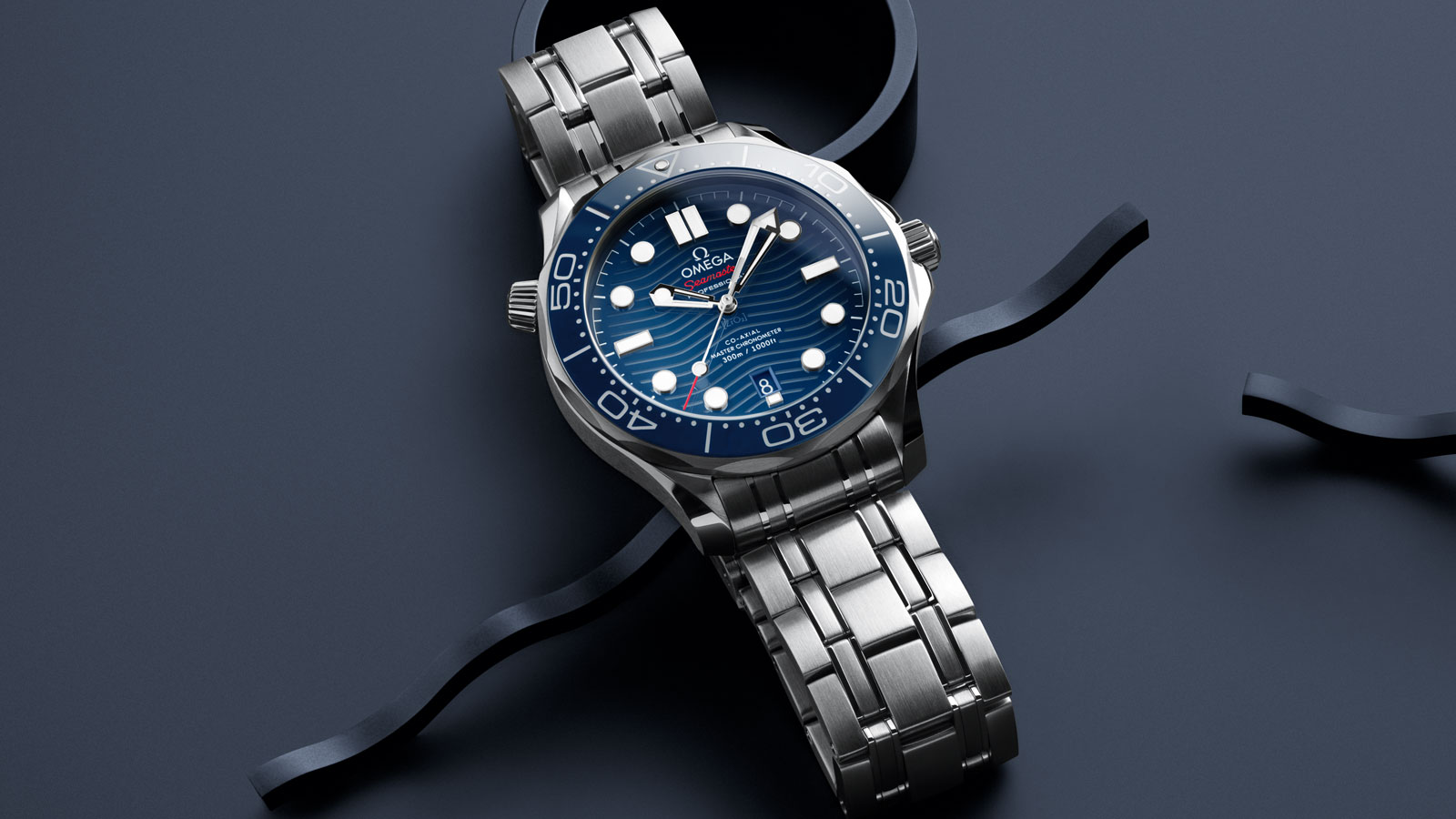 Seamaster 300米潜水表 300米潜水表 欧米茄同轴•至臻天文台表42毫米 - 210.30.42.20.03.001 - 查看 1