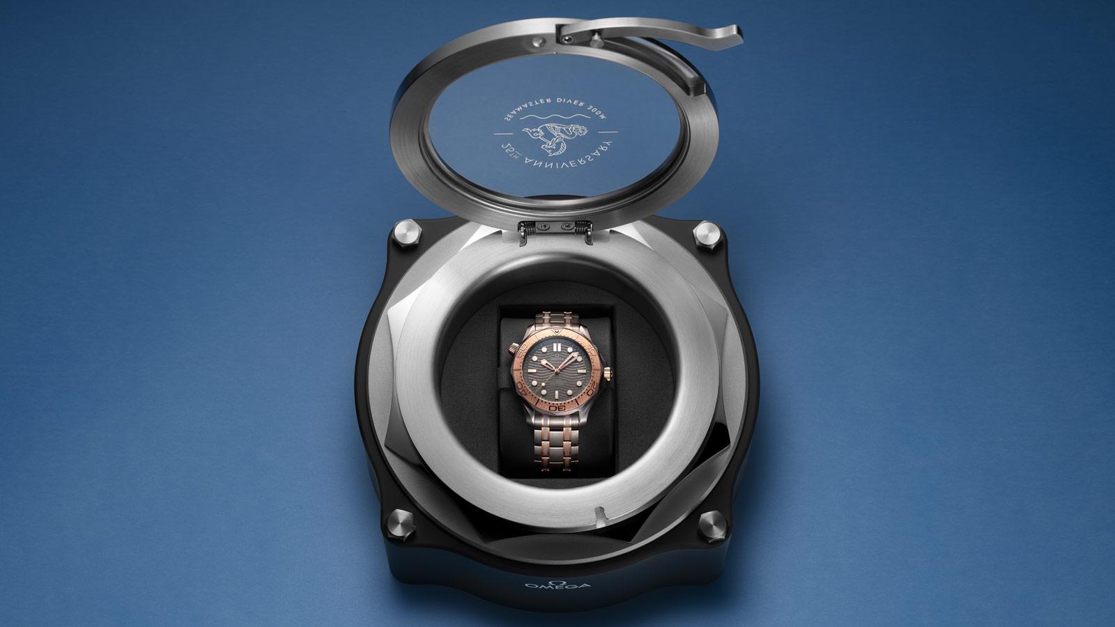 Seamaster 300米潜水表 300米潜水表 欧米茄同轴•至臻天文台表42毫米 腕表 - 210.60.42.20.99.001