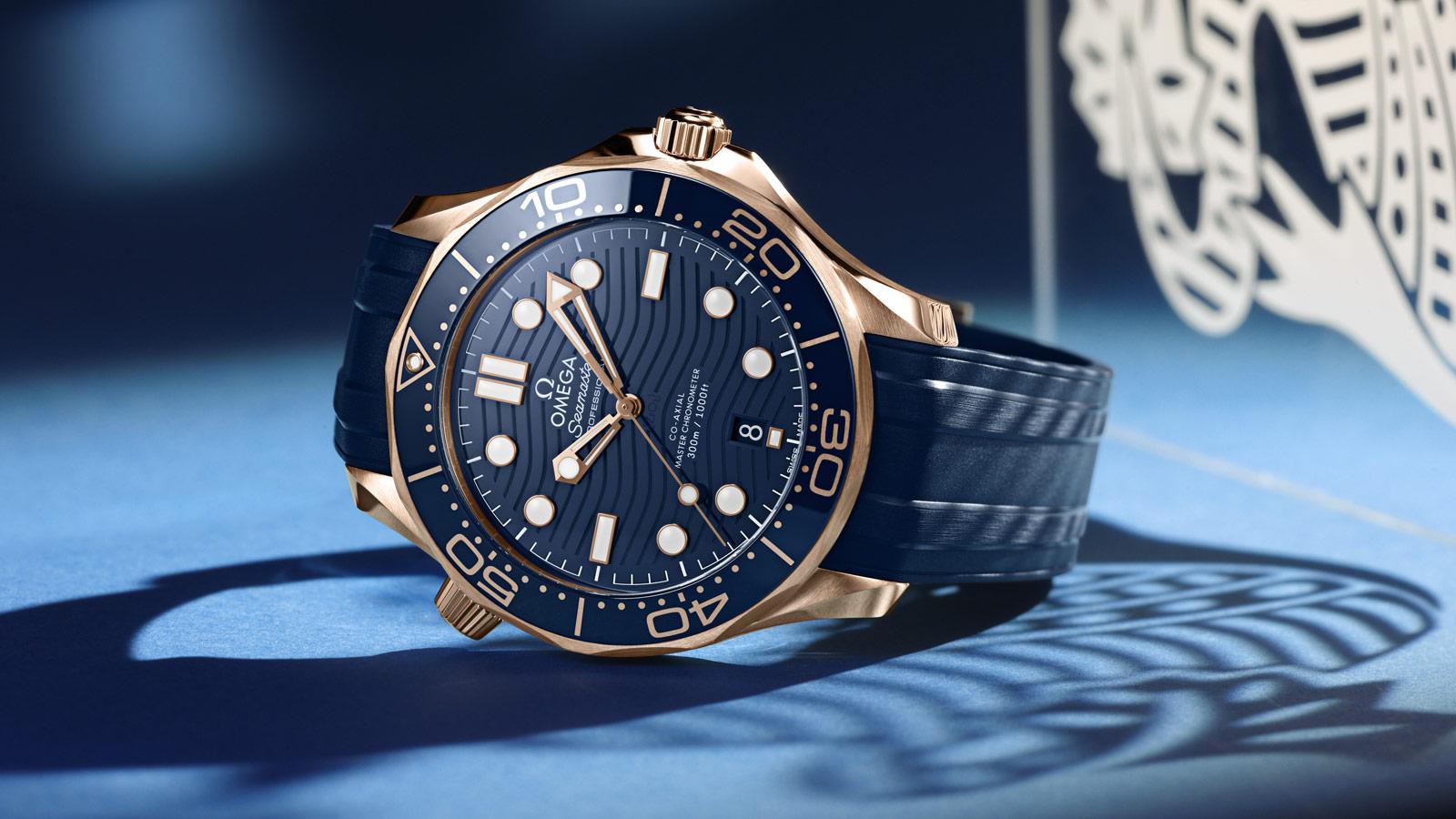 Seamaster 300米潜水表 300米潜水表 欧米茄同轴•至臻天文台表42毫米 腕表 - 210.62.42.20.03.001