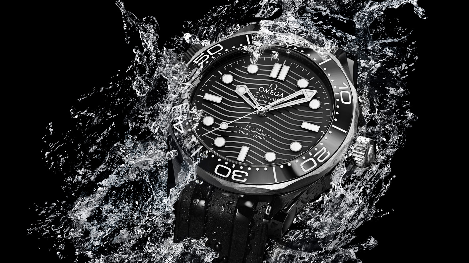 Seamaster 300米潜水表 300米潜水表 欧米茄至臻天文台表43.5毫米 腕表 - 210.92.44.20.01.001