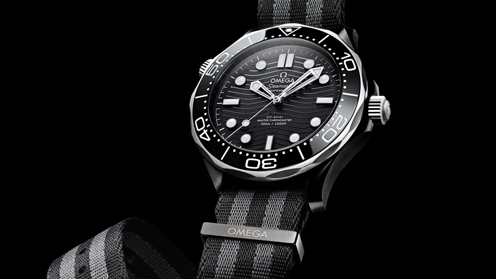 Seamaster 300米潜水表 300米潜水表 欧米茄至臻天文台表43.5毫米 腕表 - 210.92.44.20.01.002