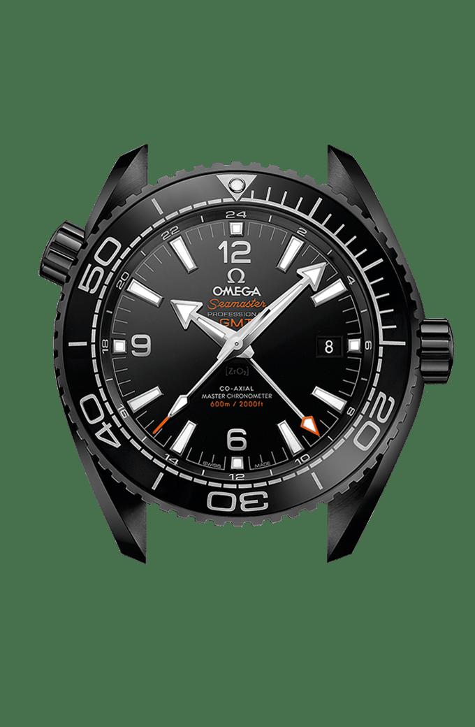 海洋宇宙600米 欧米茄45.5毫米至臻天文台GMT腕表 - 215.92.46.22.01.001