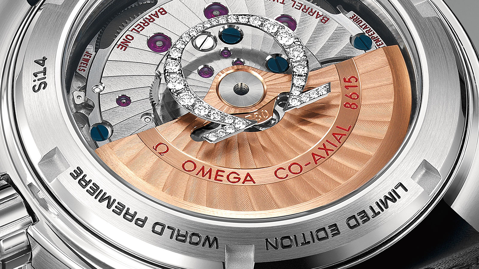 Seamaster 海洋宇宙600米腕表 海洋宇宙600米 欧米茄43.5毫米同轴GMT腕表 腕表 - 232.98.44.22.01.001