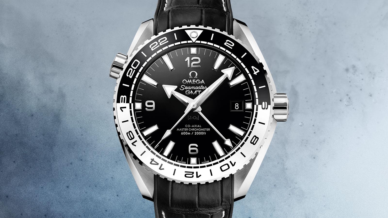 Seamaster 海洋宇宙600米腕表 海洋宇宙600米 欧米茄GMT同轴至臻天文台表43.5毫米 腕表 - 215.33.44.22.01.001