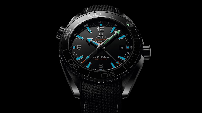 Seamaster 海洋宇宙600米腕表 海洋宇宙600米 欧米茄45.5毫米至臻天文台GMT腕表 - 215.92.46.22.01.001 - 查看 1
