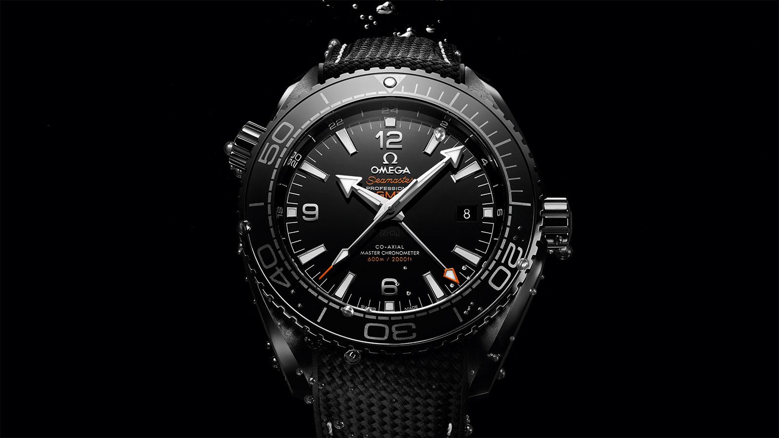 Seamaster 海洋宇宙600米腕表 海洋宇宙600米 欧米茄45.5毫米至臻天文台GMT腕表 腕表 - 215.92.46.22.01.001