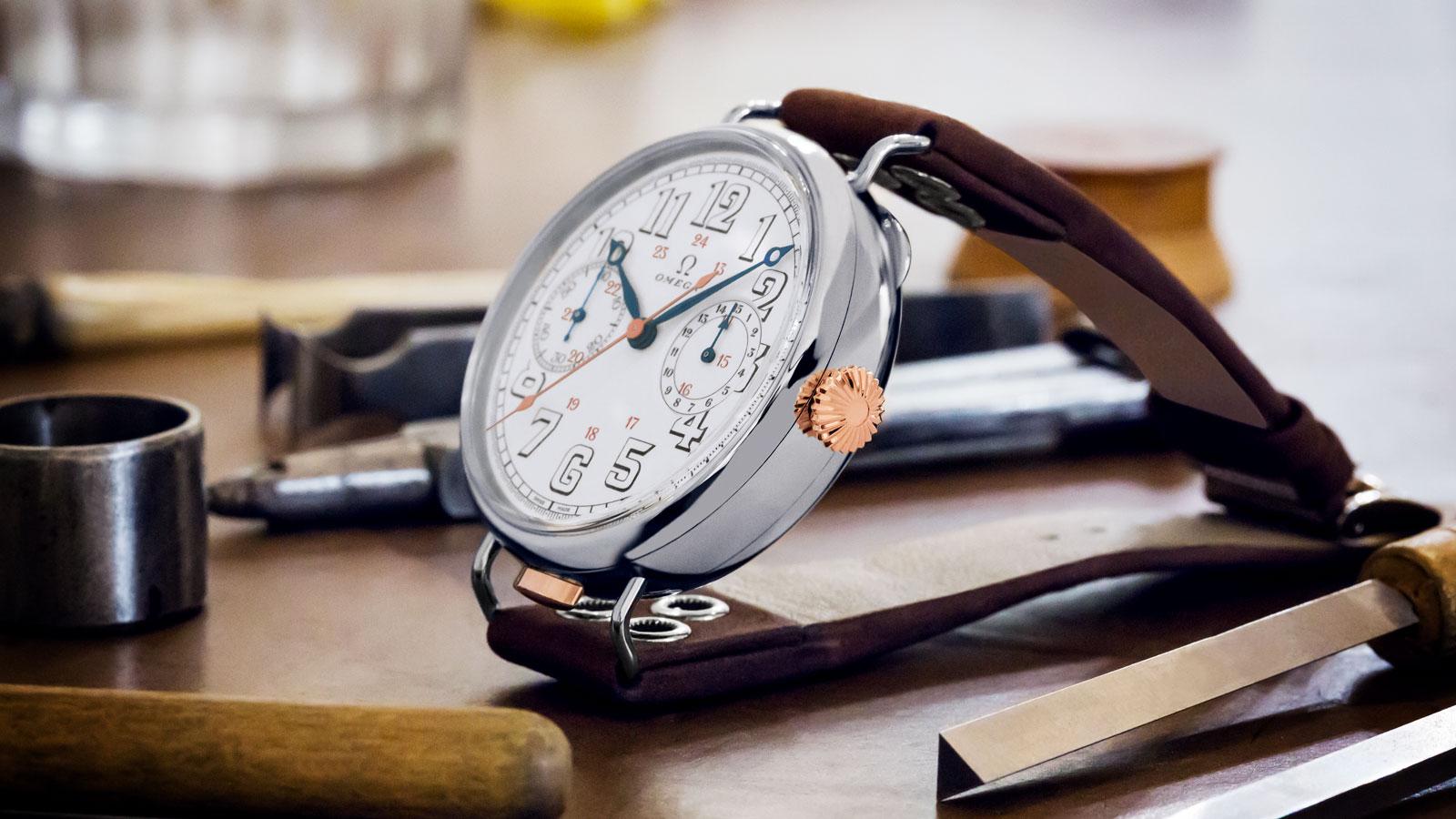 """特别系列 欧米茄""""首枚计时腕表"""" 欧米茄""""首枚计时腕表"""" 腕表 - 516.52.48.30.04.001"""