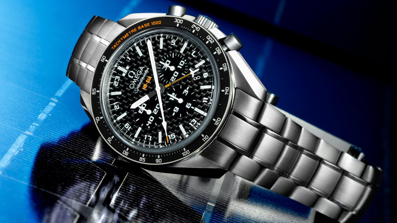 Speedmaster SOLAR IMPULSE HB‑SIA腕表 HB‑SIA腕表 44.25毫米同轴GMT 编号版计时表 - 321.90.44.52.01.001 - 查看 1