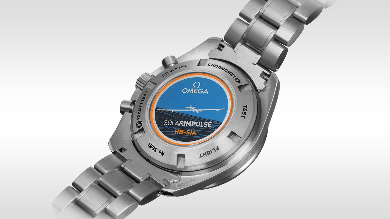 Speedmaster SOLAR IMPULSE HB‑SIA腕表 HB‑SIA腕表 44.25毫米同轴GMT 编号版计时表 - 321.90.44.52.01.001 - 查看 2