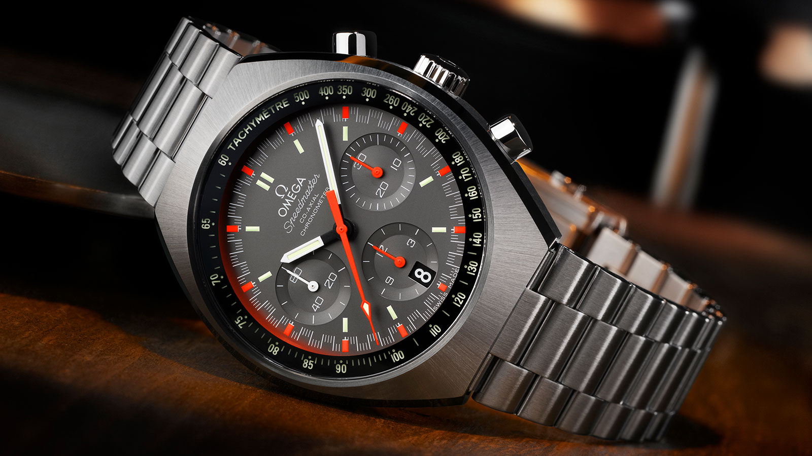 Speedmaster MARK II腕表 Mark II腕表 42.4 x 46.2毫米同轴计时表 腕表 - 327.10.43.50.06.001