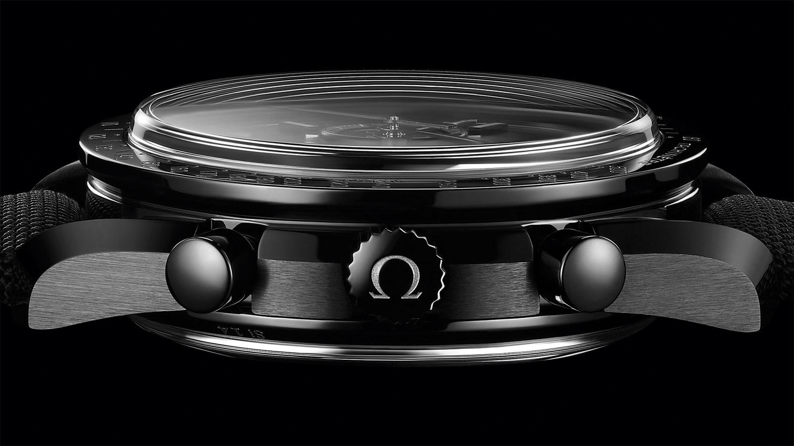 Speedmaster 月球表 月球表 欧米茄44.25毫米同轴计时表 腕表 - 311.92.44.51.01.007