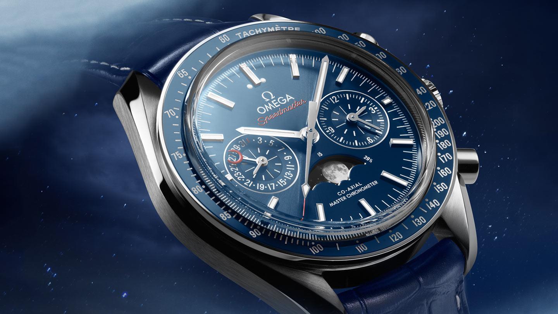 Speedmaster 月球表 月球表 欧米茄月相至臻天文台计时腕表44.25毫米 - 304.33.44.52.03.001 - 查看 2
