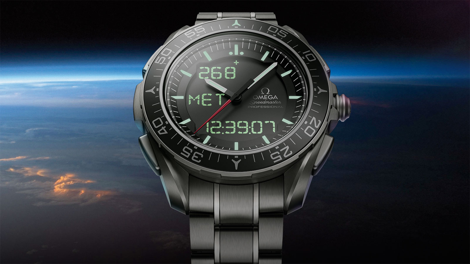 "Speedmaster ""天行者"" X‑33腕表 ""天行者"" X‑33腕表 计时腕表45毫米 腕表 - 318.90.45.79.01.001"