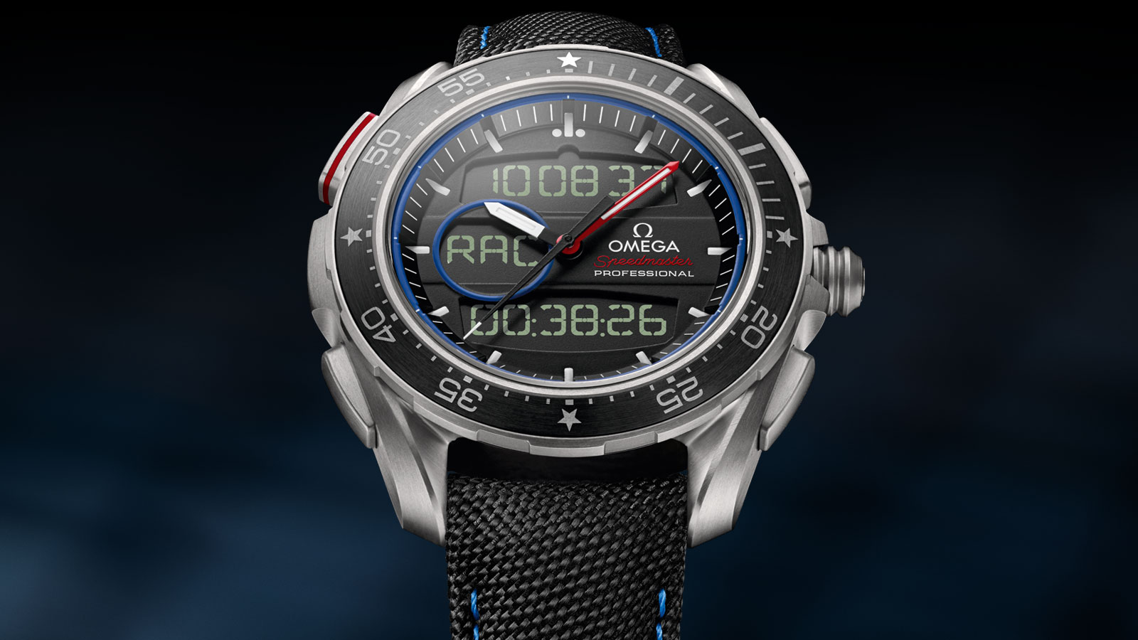 "Speedmaster 超霸系列X‑33""帆船赛""腕表 超霸系列X‑33""帆船赛""腕表 45毫米 - 318.92.45.79.01.001 - 查看 1"