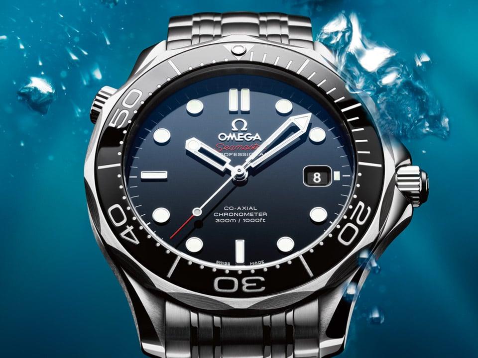 海马同轴300米潜水表系列