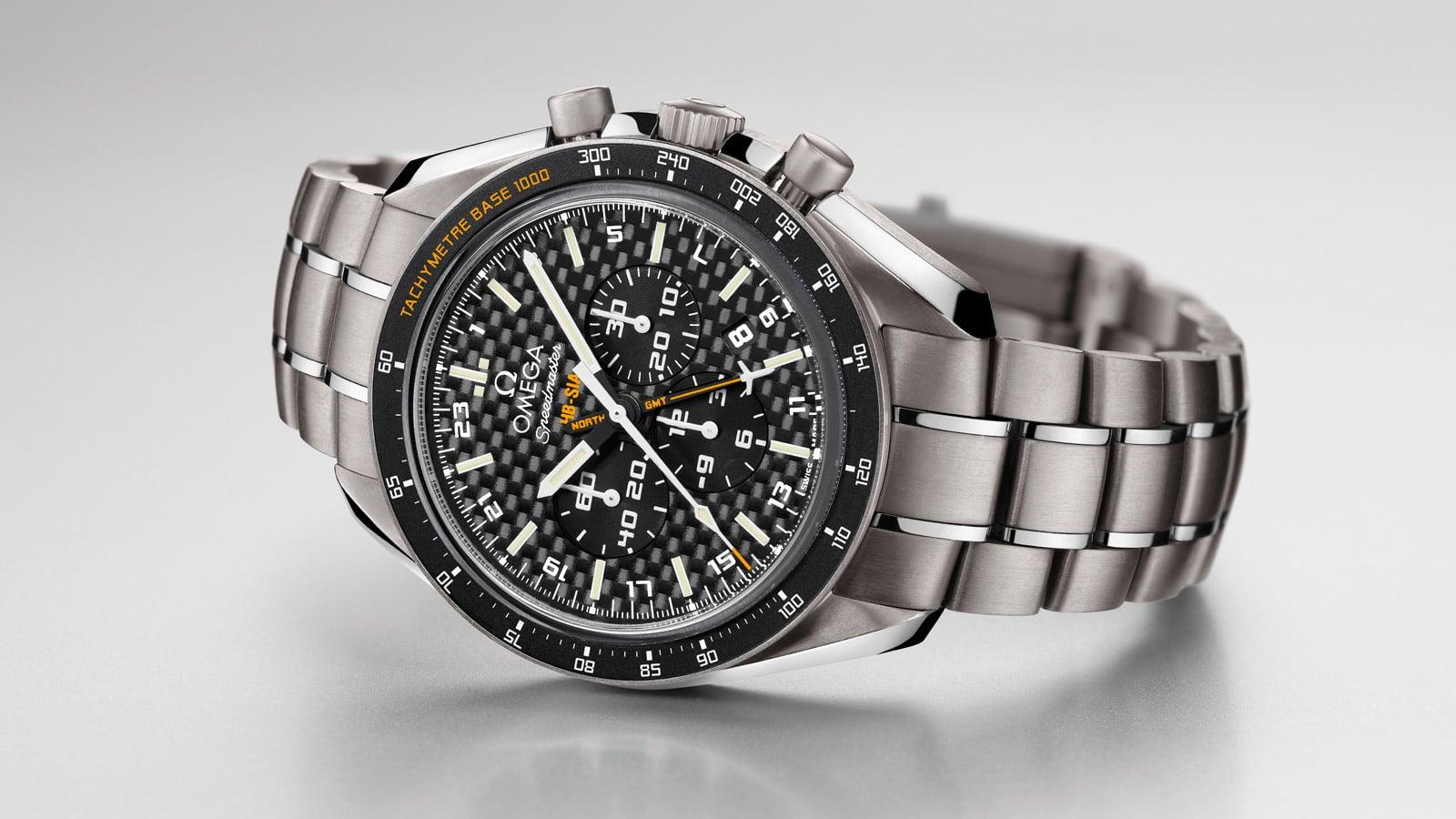 超霸系列HB-SIA GMT腕表: 让太阳为我们引路!