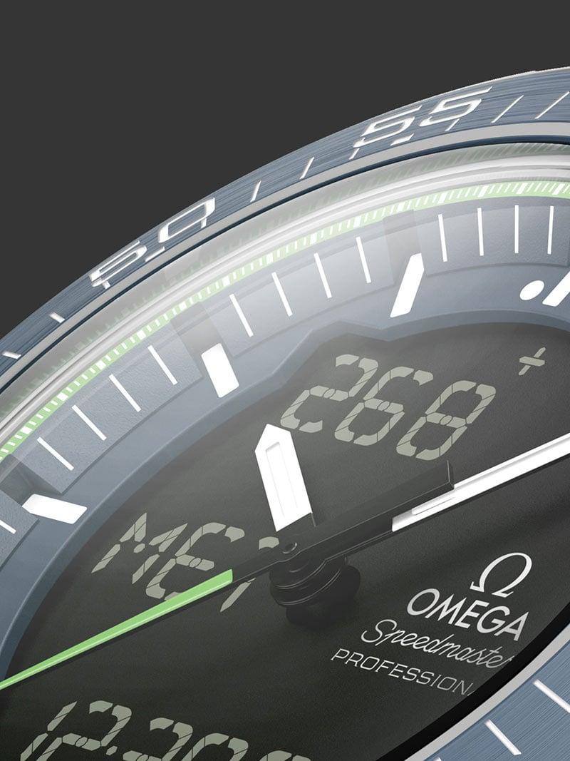 """欧米茄""""阳光动力""""限量版腕表: 超霸系列 - """"天行者"""" X-33腕表 项目 5 - 30240"""