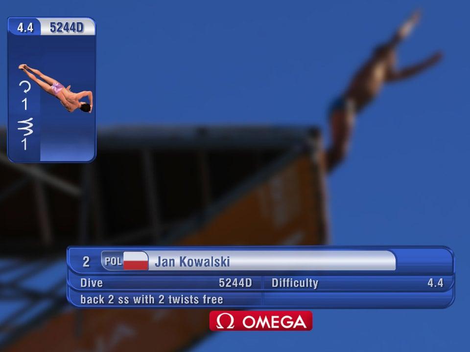 虚拟跳水动画