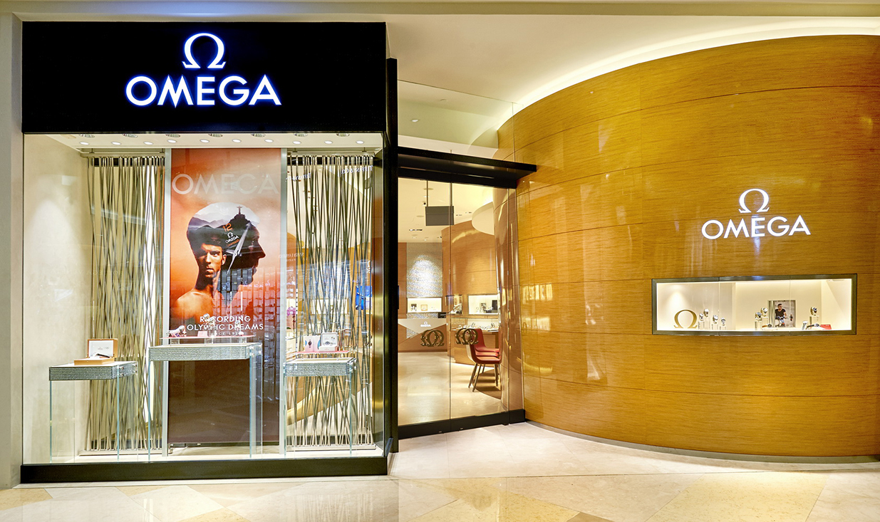OMEGA Boutique 2 Orchard Turn  #01-11  ION Orchard 238801 Singapore