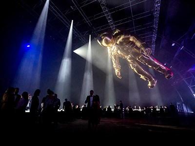 """欧米茄在澳大利亚举行""""阿波罗11号""""登月50周年庆典"""