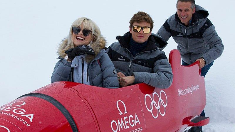 群星亮相奥林匹克有舵雪橇滑道